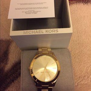 Unisex Michael Kors  gold watch